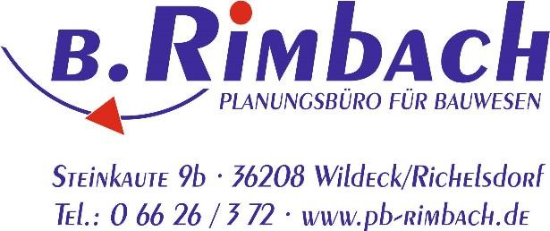 Planungsbüro für Bauwesen Boris Rimbach Steinkaute 9b 36208 Wildeck-Richelsdorf